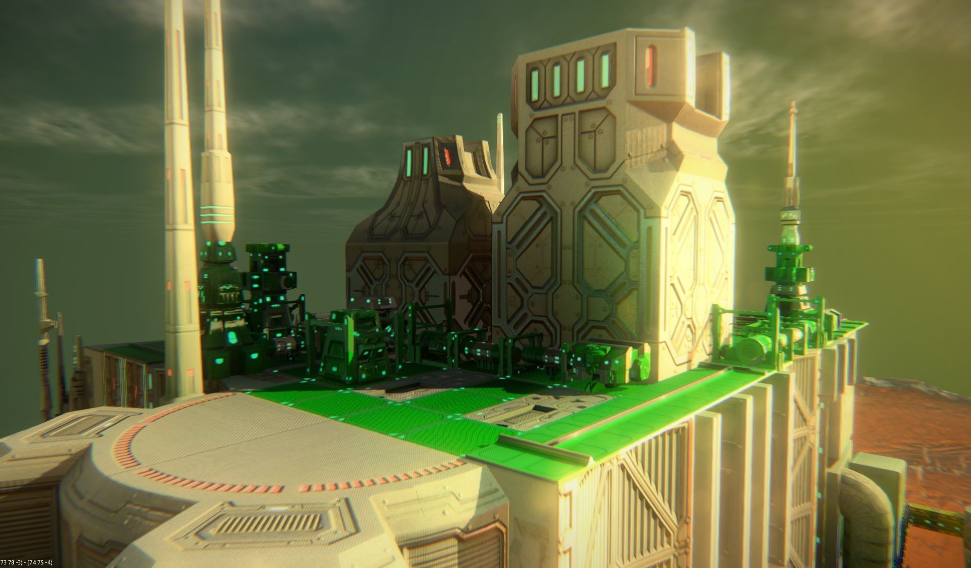 Our global illumination demo mode